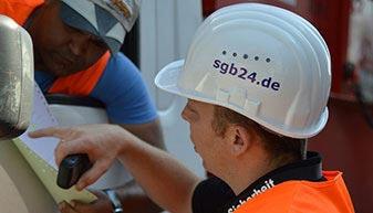 Baustellenbewachung von SGB Schutz & Sicherheit