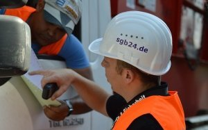 Baustellensicherung SGB Mann
