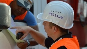 Baustellensicherung SGB Mitarbeiter