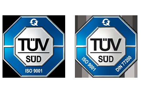 Zertifiziert vom TÜV Süd - Leistungen von SGB Schutz & Sicherheit