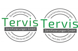 Tervis Zertifizierung
